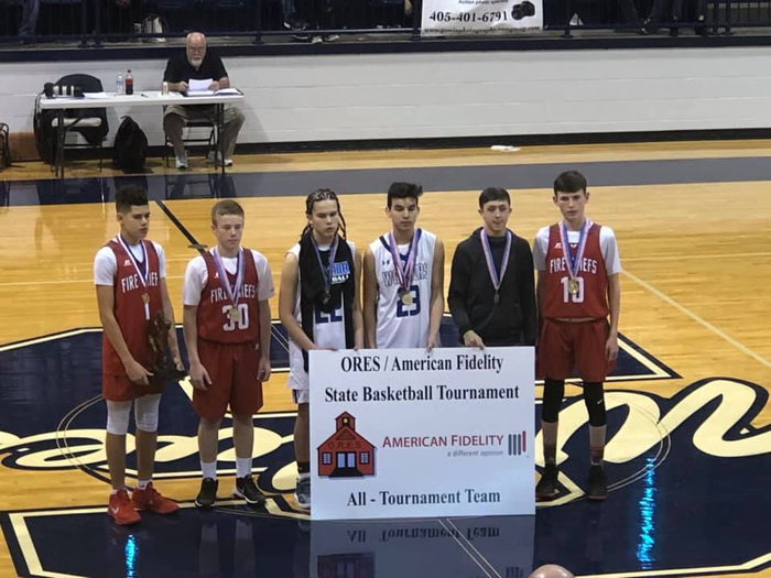 Boys All Tournament Team